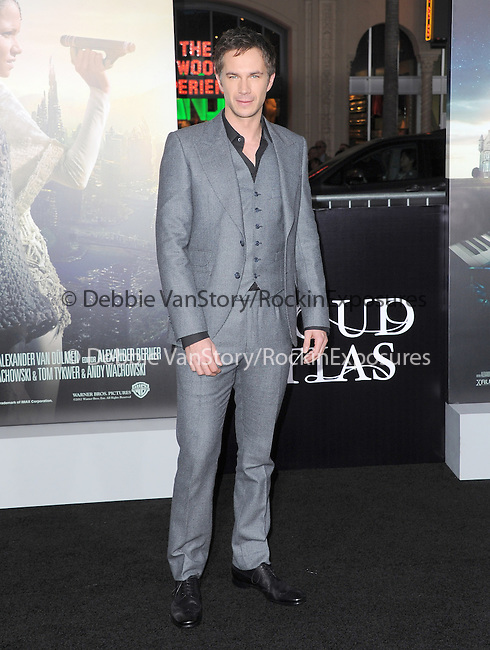 James D'Arcy at The Warner Bros. Pictures L.A. Premiere of Cloud Atlas held at The Grauman's Chinese Theatre in Hollywood, California on October 24,2012                                                                               © 2012 Hollywood Press Agency