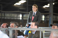 Lincoln Red Cattle Society 2018 Autumn Show & Sale, Newark Livestock Market.<br /> ©Tim Scrivener Photographer 07850 303986<br />      ....Covering Agriculture In The UK....