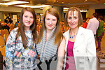 Leisha Coakley, Sadhbh Barrett Coakley and Susan Barrett (Camp) pictured at the Mental Wellness event held in the Malton hotel, Killarney, on Sunday.