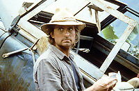 Romancing the Stone (1984) <br /> Michael Douglas<br /> *Filmstill - Editorial Use Only*<br /> CAP/KFS<br /> Image supplied by Capital Pictures