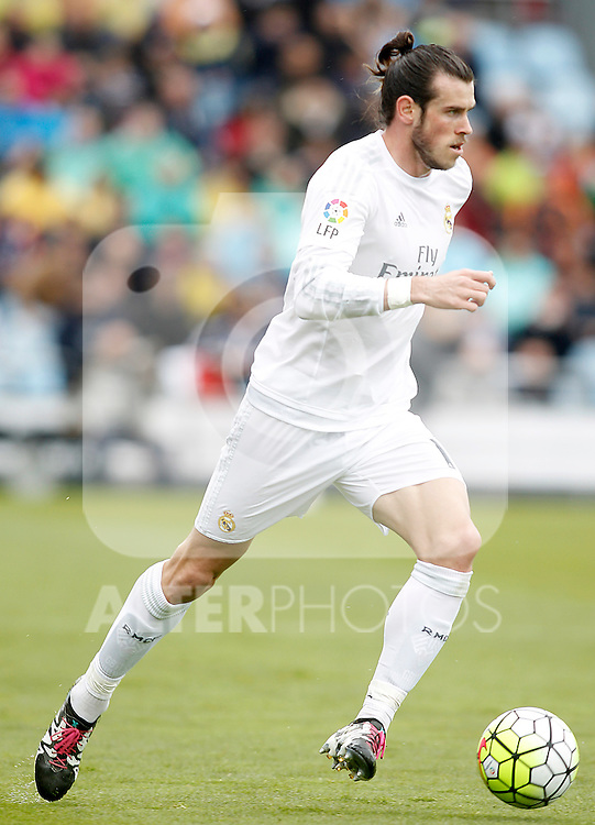 Real Madrid's Gareth Bale during La Liga match. April 16,2016. (ALTERPHOTOS/Acero)
