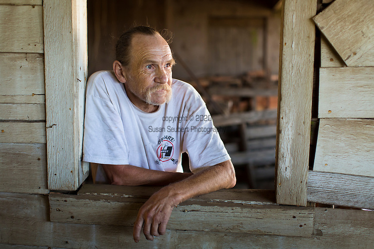 Portrait of Rick Goff in Yamhill, Oregon, USA