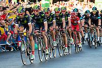 Team Movistar during La Vuelta a España 2016 in Madrid. September 11, Spain. 2016. (ALTERPHOTOS/BorjaB.Hojas) NORTEPHOTO.COM