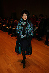 LUCIA HWONG GORDON-Front Row-Mercedes Benz Fashion Week Douglas Hannant Fall 2013, NY 2/13/13