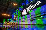 Bono speaking at the Web Summit 2014 <br /> Pic: Angela Halpin