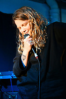 Kate Tempest, Mercury Prize-nominated British performance poet and musician performs live in store before signing copies of her new album The Book of Traps and Lessons, at Rough Trade East, London, UK, 20th June 2019.<br /> CAP/JOR<br /> ©JOR/Capital Pictures /MediaPunch ***FOR USA AND CANADA ONLY***