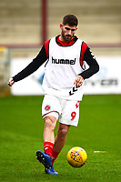 Fleetwood Town's Ched Evans warms up<br /> <br /> Photographer Richard Martin-Roberts/CameraSport<br /> <br /> The EFL Sky Bet League One - Fleetwood Town v Doncaster Rovers - Wednesday 26th December 2018 - Highbury Stadium - Fleetwood<br /> <br /> World Copyright &not;&copy; 2018 CameraSport. All rights reserved. 43 Linden Ave. Countesthorpe. Leicester. England. LE8 5PG - Tel: +44 (0) 116 277 4147 - admin@camerasport.com - www.camerasport.com
