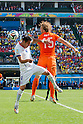 Mauricio Isla (CHI), Dirk Kuyt (NED), JUNE 23, 2014 - Football / Soccer : FIFA World Cup Brazil 2014 Group B match between Netherlands 2-0 Chile at Arena de Sao Paulo Stadium in Sao Paulo, Brazil. (Photo by Maurizio Borsari/AFLO)