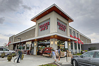 Trader Joe's grocery store located in the Shops at Stonefield in Charlottesville, VA. Photo/Andrew Shurtleff