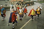 Up Helly Aa. Lerwick Sheltand. Scotland. Fire festival. Children's procession.  <br />