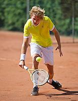 August 12, 2014, Netherlands, Raalte, TV Ramele, Tennis, National Championships, NRTK,  Boris Oomes (NED)<br /> Photo: Tennisimages/Henk Koster
