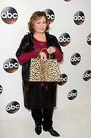 PASADENA, CA - JANUARY 8: Roseanne Barr at Disney ABC Television Group's TCA Winter Press Tour 2018 at the Langham Hotel in Pasadena, California on January 8, 2018. <br /> CAP/MPI/DE<br /> &copy;DE/MPI/Capital Pictures