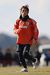 Megumi Kamionobe (JPN), .FEBRUARY 11, 2012 - Football / Soccer : Nadeshiko Japan team training Wakayama camp at Kamitonda Sports Center in Wakayama, Japan. (Photo by Akihiro Sugimoto/AFLO SPORT) [1080]