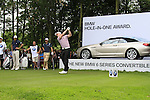 David Horsey (ENG) tees off on the par3 17th tee during Day 1 of the BMW International Open at Golf Club Munchen Eichenried, Germany, 23rd June 2011 (Photo Eoin Clarke/www.golffile.ie)