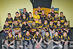 The Dr Crokes u12 team that received their County and Easy Kerry Championships medals at the Dr Crokes juvenile awards ceremony in their clubhouse on Friday night front row l-r: Patrick Wrenn, Cian O'Hare, Nelu O'Doherty, Lorcan McMonagle, Brendan Coppinger, Jack Griffin, Jack Galvin. Middle row: Cian O'Neill, Brendan Courtney, Luke Casey, Mark O'Shea, David Loughlin, Michael Potts, David Shaw, James McAulliffe, Gavin O'Sullivan. Back row: Donie O'Sullivan, Mark Harnett, Conor Harrington, Murt O'Shea, Aodain de Brun, Cieran Fitzpatrick, David Rea, Shane O'Connor, Dion Marcos with coaches l-r: Frank Courtney, Frank Shaw and Jimmy Coppinger