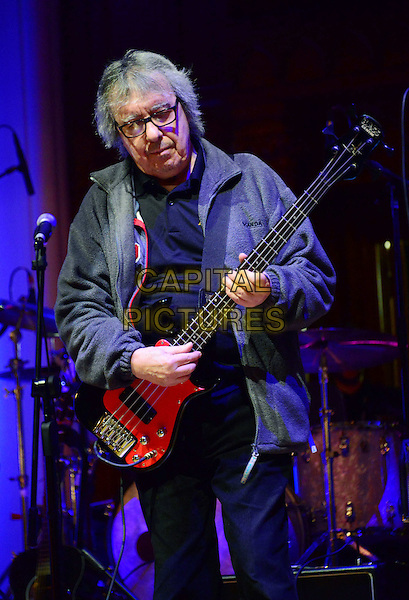 LONDON, ENGLAND - MARCH 1: Bill Wyman at photocall ahead of performance to mark Grammy award winning guitarist Albert Lee&rsquo;s 50 year career and his 70th birthday (December 21, 2013) at Cadogan Hall, 5 Sloane Terrace, on March 1, 2014, in London, England.<br /> CAP/JOR<br /> &copy;Nils Jorgensen/Capital Pictures