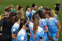 Bridgeview, IL - Sunday June 25, 2017: Chicago Red Stars during a regular season National Women's Soccer League (NWSL) match between the Chicago Red Stars and Sky Blue FC at Toyota Park. The Red Stars won 2-1.