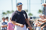 Carlos Beltran (Yankees),<br /> FEBRUARY 20, 2014 - MLB : Carlos Beltran of the New York Yankees during the the first day of the Yankees spring training baseball camp at George M. Steinbrenner Field in Tampa, Florida, United States.<br /> (Photo by Thomas Anderson/AFLO) (JAPANESE NEWSPAPER OUT)