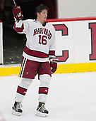 Ryan Donato (Harvard - 16) - The Harvard University Crimson defeated the visiting Cornell University Big Red on Saturday, November 5, 2016, at the Bright-Landry Hockey Center in Boston, Massachusetts.