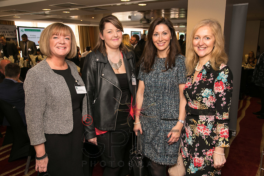 Left to right are Karen Ackerley of Galleries of Justice Museum, Shannon Allcock of of Logistics & Warehouse Services, Sarah Robinson and Karen Murrin, both of Premier Legal