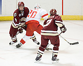 Mike Brennan, Chris Michael, Anthony Aiello - The Boston College Eagles defeated the Miami University Redhawks 5-0 in their Northeast Regional Semi-Final matchup on Friday, March 24, 2006, at the DCU Center in Worcester, MA.