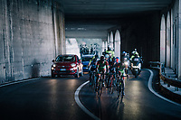 yet another tunnel for the breakaway group on their way to the finale<br /> <br /> 109th Milano-Sanremo 2018<br /> Milano &gt; Sanremo (291km)