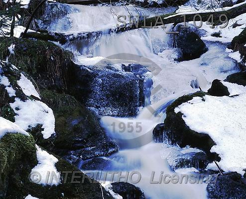 Carl, CHRISTMAS LANDSCAPE, photos, river(SWLA1049,#XL#) Landschaften, Weihnachten, paisajes, Navidad