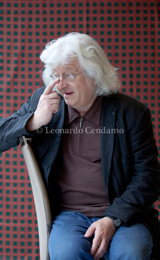 Péter Esterházy (born 14 April 1950 in Budapest) is one of the most widely known contemporary Hungarian writers. His books are considered to be significant contributions to postwar literature. Tourin, 16 maggio 2013. © Leonardo Cendamo