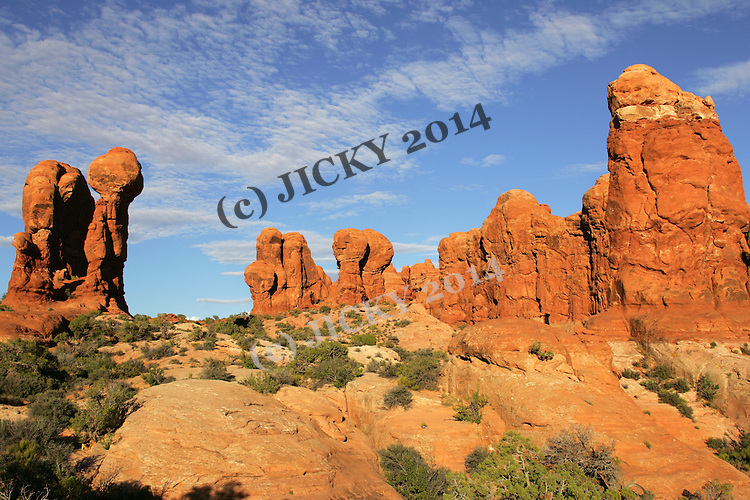 Arches National Park - Garden of Eden