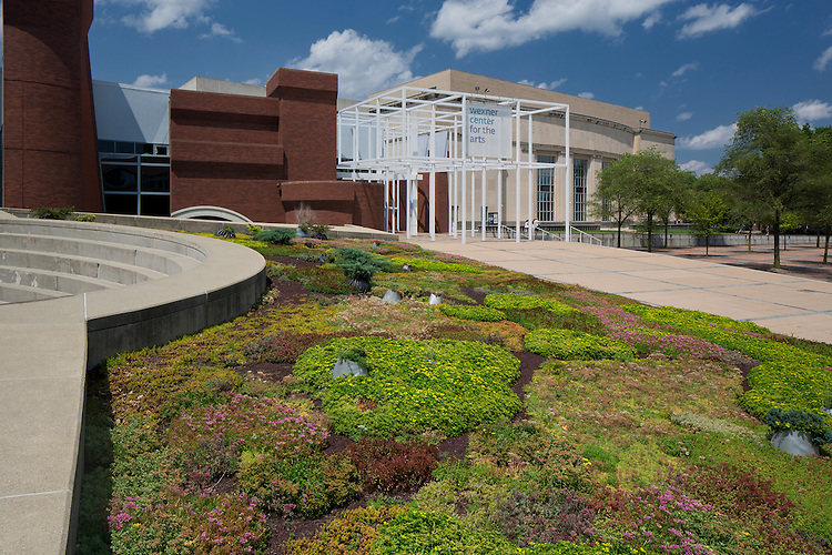 Paula Hayes Garden at the Wexner Center for the Arts at The Ohio State University | Paula Hayes Installation Piece