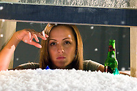 Black Christmas (2006) <br /> Crystal Lowe<br /> *Filmstill - Editorial Use Only*<br /> CAP/KFS<br /> Image supplied by Capital Pictures