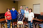 Norrie Lenihan Castleisland celebrated her 95th. Birthday <br /> L-R Eileen O&rsquo; Connor (daughter) , Gabe &amp; Benny Thade McCarthy from Duagh, John &amp; Betty Tracy from Castleisland on Monday night at the Benny Thade McCarthy&rsquo;s Rambling House. The event was held in <br /> Fr. Caseys GAA clubhouse Abbeyfeale and all proceeds go to The Chernobyl Childrens Fund.