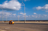 Cuba, am Malecon in Habana - Vedado
