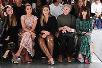 Amber Le Bon, Iskra Lawrence and Ophelia Lovibond<br /> at the Bora Aksu SS18 Show as part of London Fashion Week, London<br /> <br /> <br /> ©Ash Knotek  D3308  15/09/2017