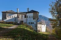 Oesterreich, Salzburger Land, Salzburg: das Franziskischloessl, Teil einer Wehranlage auf dem Kapuzinerberg | Austria, Salzburger Land, Salzburg: Franziskischloessl - Francis′ Castle - fortifications on top of Mount Kapuzinerberg