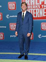05 November 2018 - Hollywood, California - Jack McBrayer. Disney's &quot;Ralph Breaks the Internet&quot; Los Angeles Premiere held at El Capitan Theater. <br /> CAP/ADM/BT<br /> &copy;BT/ADM/Capital Pictures