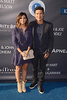 LOS ANGELES - JUN 8:  Courtney Laine Mazza, Mario Lopez at the Los Angeles Dodgers Foundations 3rd Annual Blue Diamond Gala at the Dodger Stadium on June 8, 2017 in Los Angeles, CA