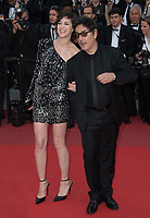 Charlotte Gainsbourg &amp;  Yvan Attal at the premiere for &quot;The Meyerowitz Stories&quot; at the 70th Festival de Cannes, Cannes, France. 21 May  2017<br /> Picture: Paul Smith/Featureflash/SilverHub 0208 004 5359 sales@silverhubmedia.com