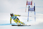 December 4, 2011:  Norway's Kjetil Jansrud competes in the Giant Slalom at the Audi Birds of Prey FIS World Cup ski championships at Beaver Creek Ski Resort, Colorado.