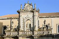 Dettaglio esterno del Duomo di Lecce.<br /> Exterior detail of the Cathedral in Lecce.<br /> UPDATE IMAGES PRESS/Riccardo De Luca