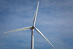 Wind turbines in rural areas are part of the new sustainable energy future of the United States. Wind turbines don't emit any pollution that could contaminate lakes and streams.