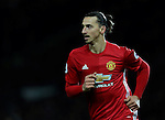 Zlatan Ibrahimovic of Manchester United during the Premier League match at the Old Trafford Stadium, Manchester. Picture date: November 27th, 2016. Pic Simon Bellis/Sportimage