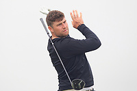 Rhys Clarke (Island) on the 2nd tee during Round 1 of The East of Ireland Amateur Open Championship in Co. Louth Golf Club, Baltray on Saturday 1st June 2019.<br /> <br /> Picture:  Thos Caffrey / www.golffile.ie<br /> <br /> All photos usage must carry mandatory copyright credit (© Golffile | Thos Caffrey)