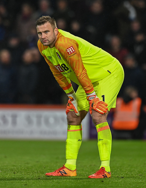 Bournemouth's Artur Boruc <br /> <br /> Photographer David Horton/CameraSport<br /> <br /> The Premier League - Bournemouth v West Ham United - Saturday 19 January 2019 - Vitality Stadium - Bournemouth<br /> <br /> World Copyright © 2019 CameraSport. All rights reserved. 43 Linden Ave. Countesthorpe. Leicester. England. LE8 5PG - Tel: +44 (0) 116 277 4147 - admin@camerasport.com - www.camerasport.com