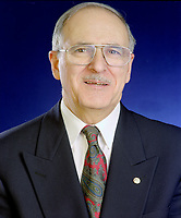 January 1994  exclusive file photo - <br /> Ulric Blackburn, President,<br />  Union des Municipalites du Quebec (1993-1995), Mayor, Chicoutimi (1981-1997).<br /> <br /> He passed away at aged 72, on June 2nd, 1999.PHOTO : Agence Quebec Presse - stephane Fournier