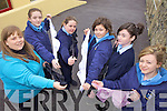 CANCER AWARENESS: Students at St Joseph's Secondary School in Ballybunion who are collecting bras to help raise awareness of breast cancers, l-r Maria O'Donovan (Teacher), Meadhbh Griffin, Ellis Barry, Muireann Beasley, Shauna Breen, Molli? Buckley.