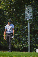 Rafael Cabrera Bello (ESP) watches his tee shot on 2 during round 3 of the World Golf Championships, Mexico, Club De Golf Chapultepec, Mexico City, Mexico. 3/3/2018.<br /> Picture: Golffile | Ken Murray<br /> <br /> <br /> All photo usage must carry mandatory copyright credit (&copy; Golffile | Ken Murray)