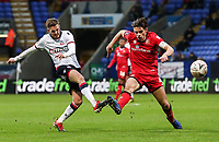 Bolton Wanderers' Craig Noone competing with Walsall's George Dobson<br /> <br /> Photographer Andrew Kearns/CameraSport<br /> <br /> Emirates FA Cup Third Round - Bolton Wanderers v Walsall - Saturday 5th January 2019 - University of Bolton Stadium - Bolton<br />  <br /> World Copyright &copy; 2019 CameraSport. All rights reserved. 43 Linden Ave. Countesthorpe. Leicester. England. LE8 5PG - Tel: +44 (0) 116 277 4147 - admin@camerasport.com - www.camerasport.com