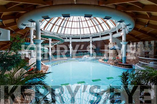 Aquadome pool on Saturday