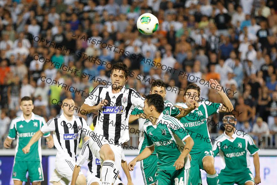 Fudbal UEFA Champions League season 2013-2014<br /> Third qualifying round, Second leg<br /> Partizan v Ludogorec<br /> Milos Ostojic <br /> Beograd, 06.08.2013.<br /> foto: Srdjan Stevanovic/Starsportphoto &copy;